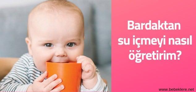 Bebeklere su içme alışkanlığı kazandırmak