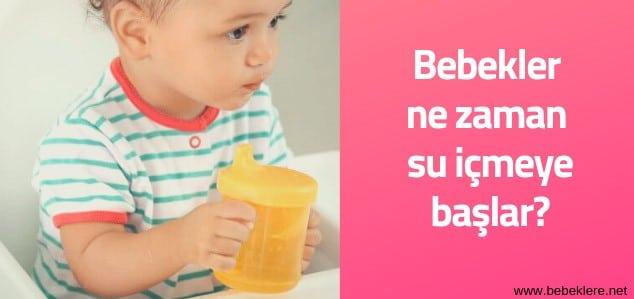 Bebeğim Su İçmiyor, ne yapmalıyım?