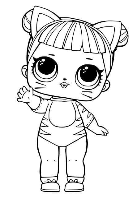 Lol Bebek Boyama Sayfalari Ucretsiz Boyama Karakterleri