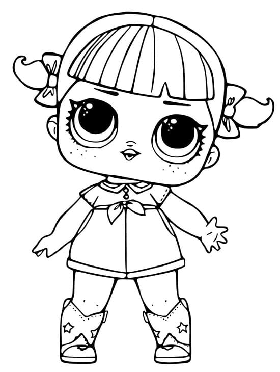 LOL Bebek Boyama Sayfaları: Ücretsiz Boyama Karakterleri