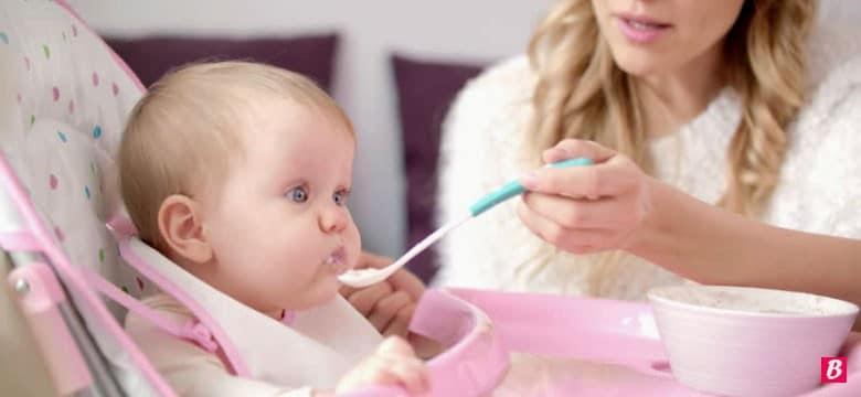 Bebeklere Kilo Aldıran Çorba Besleyici