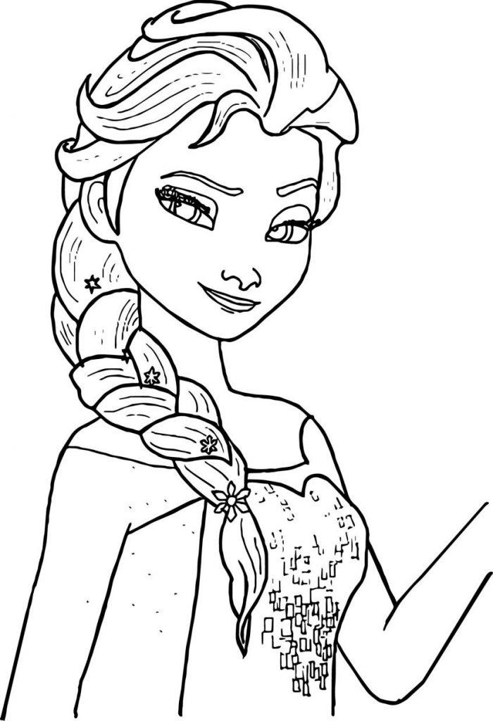 Okul Öncesi Elsa Boyama Etkinliği