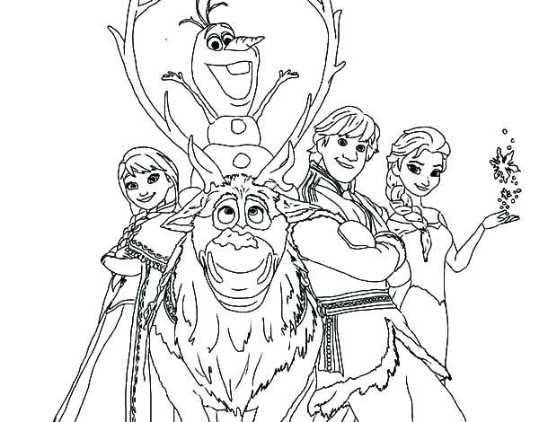 Elsa Frozen Karlar Ülkesi Boyama Etkinliği