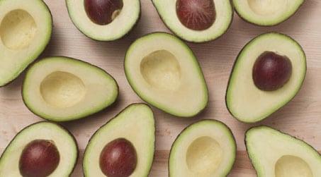 Bebekler için Avokado