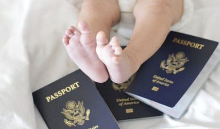 Bebekler için Pasaport